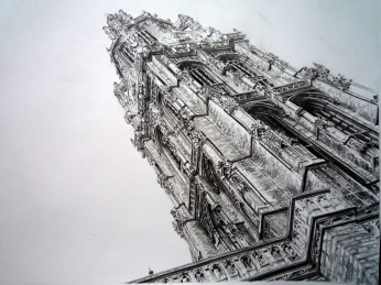 Antwerp Cathedral Detail