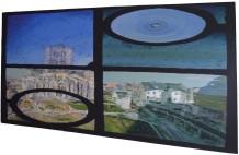 Ghent Belfrey Painting Regular View