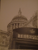 Phone Box and St Pauls