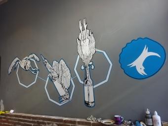 brewdog-amsterdam-mural-in-progress